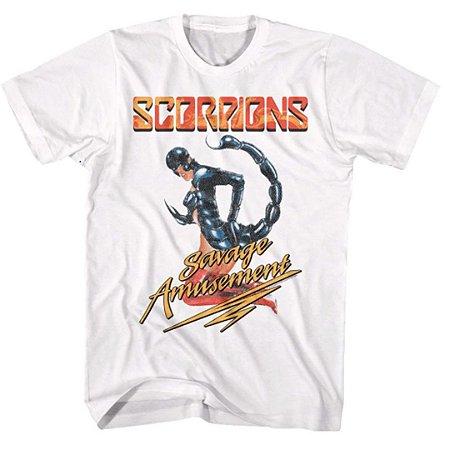 Camiseta Básica Banda Rock Scorpions Savage