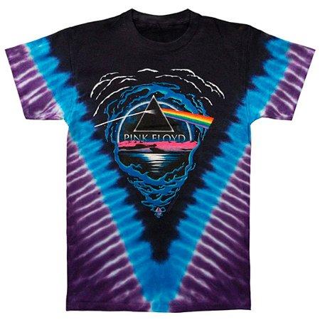 Camiseta 3d Full Banda Pink Floyd Dark Side Abyss