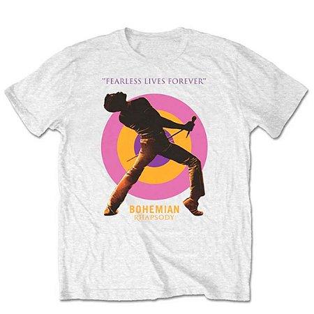 Camiseta Básica Banda Rock Queen Fearless
