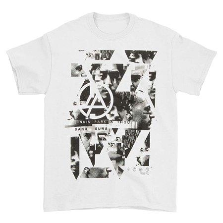 Camiseta Básica Banda Rock Linkin Park Angels