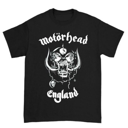 Camiseta Básica Banda Heavy Metal Motörhead England