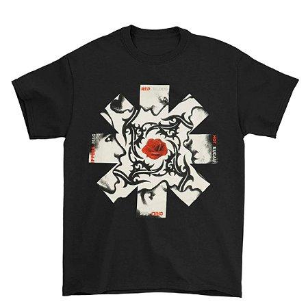 Camiseta Básica Banda Rock Red Hot Chili Peppers Blood, Sugar, Sex & Magik