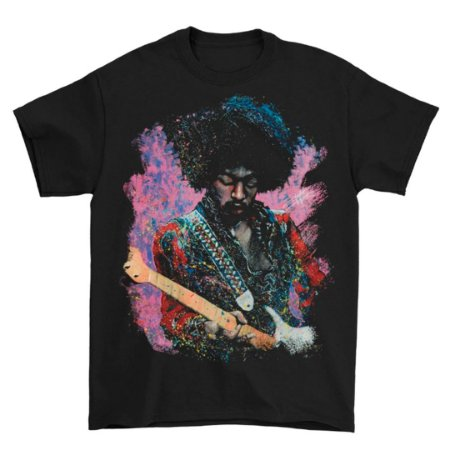 "Camiseta Básica Lendas Do Rock Cantor Jimi Hendrix Stephen Fishwick Men's ""Jimi"""