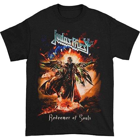Camiseta Básica Banda Heavy Metal Judas Priest