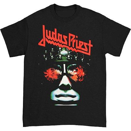 Camiseta Básica Banda Heavy Metal Judas Priest Hell Bent