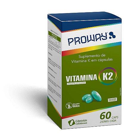 Suplemento de Vitamina K2 60caps 250mg