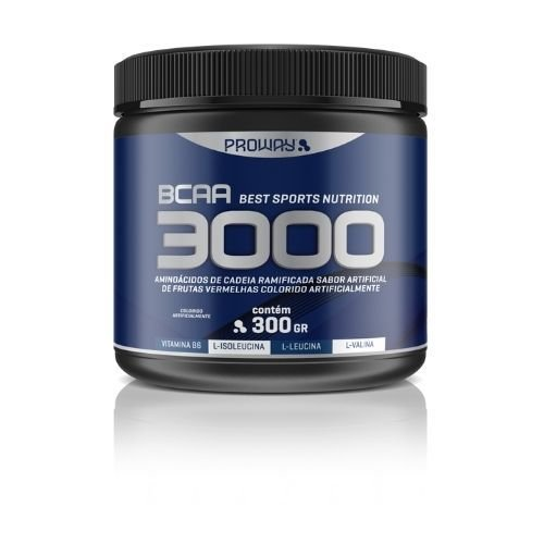 BCAA 3000 FRUTAS VERMELHAS 300GR