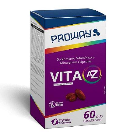 Suplemento Vita AZ - 60caps - 1000mg