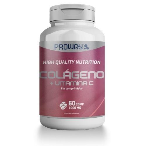 Colágeno + Vitamina C - 60 Comprimidos - 1000mg