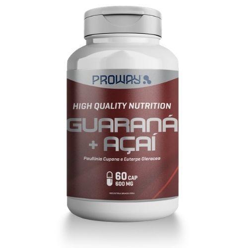 Guaraná + Açaí  - 60 Caps - 600mg