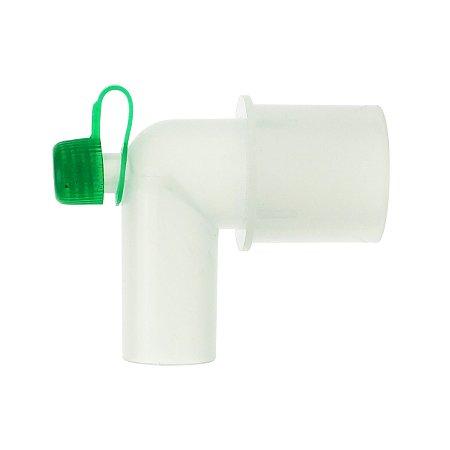 Conector Cotovelo com porta giratória Luer