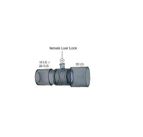 Conector Reto c/ luer lock femea VBM