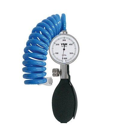 Garrote manual - Manômetro 600 mmHg com inflador com 2 manguitos VBM