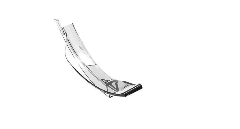 Lâmina unitária descartável para vídeo laringoscópio Besdata