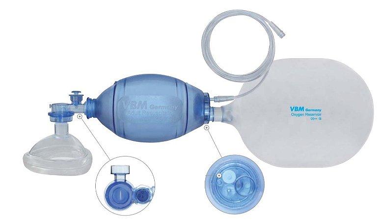 Reanimador em PVC (pediátrico)