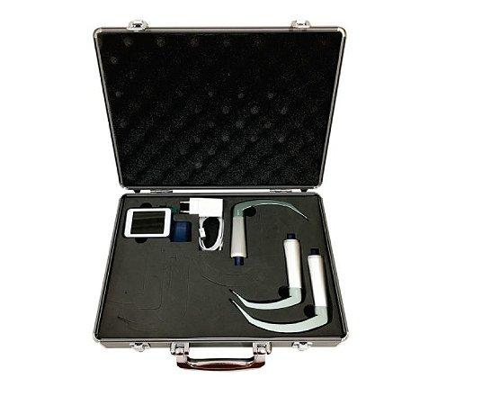 NOVO Vídeo laringoscópio reutilizável BESDATA (Mac 1, Mac 3 e Mac 4)