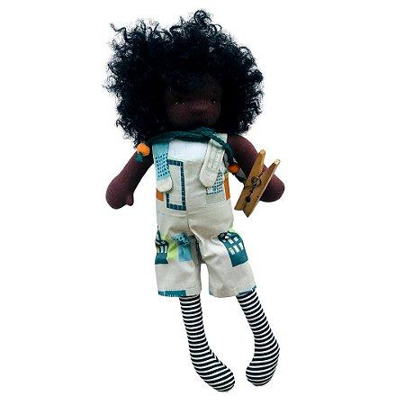Boneco de pano Colorê - João