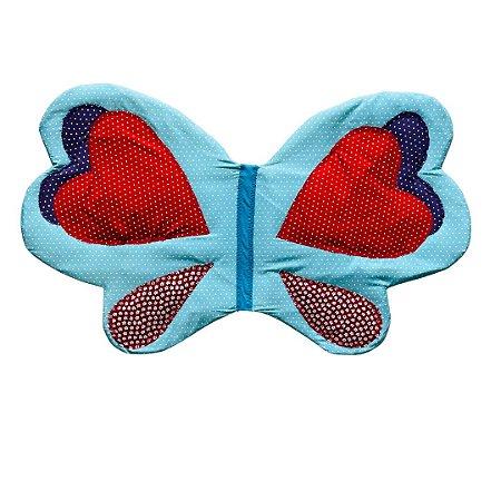 Fantasia Infantil - Asa Borboleta Azul