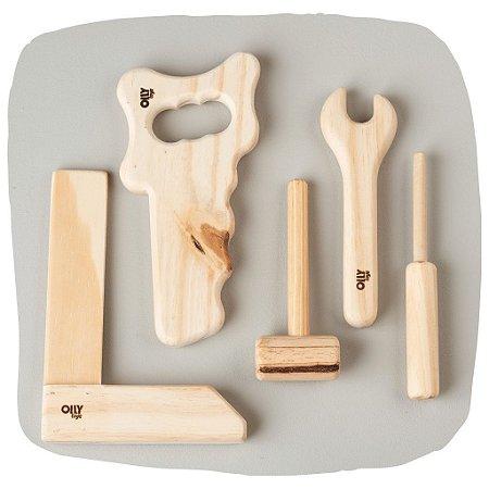 Kit marceneiro de madeira