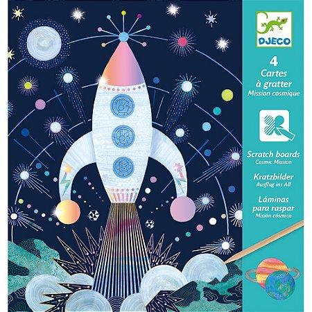 Raspadinha mágica - Missão cósmica