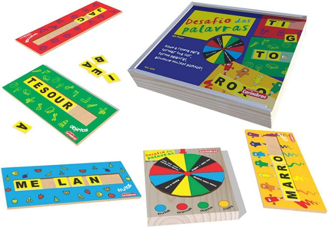 Desafio das Palavras - Jogo para Alfabetização