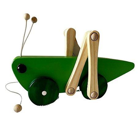 Gigrilo Articulado para puxar - Brinquedo Educativo