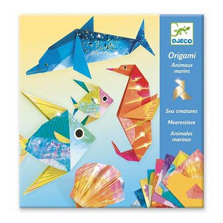 Dobradura (Origami) - Animais Marinhos