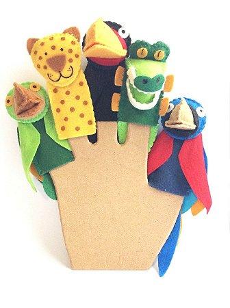 Dedoche  Animais Brasileiros - Fantoches de Dedo