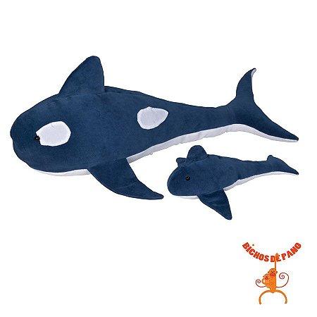 Orca Grávida com 1 Filhote