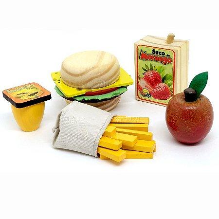 Coleção comidinhas! Kit sanduiche - 26 peças