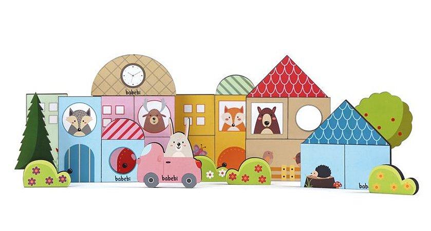 Baby construtor - Brinquedo Educativo de Madeira