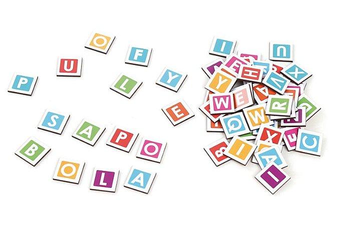 Formando palavras - Jogo para Alfabetização