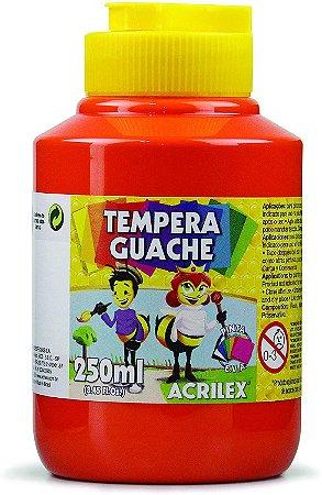 Têmpera Guache Vermelho Fogo - 250mL