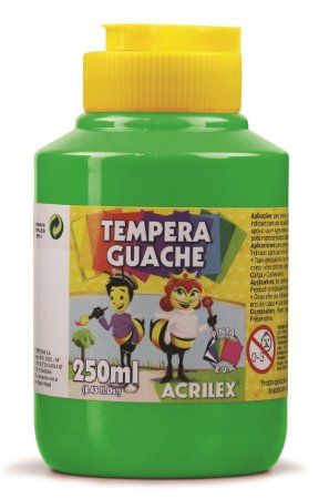 Têmpera Guache Verde Folha - 250mL