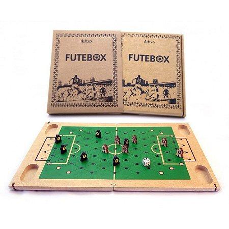 Jogo de Tabuleiro de Madeira - Futebox