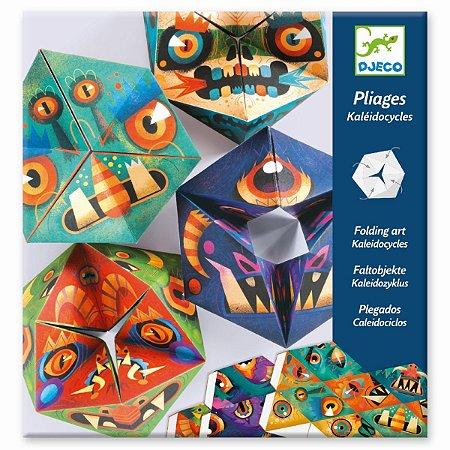 Criações em papel - Caleidociclo monstro