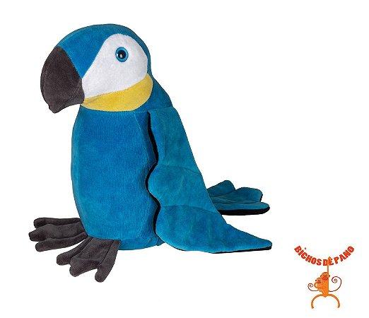 Bicho de Pelúcia - Arara Azul P