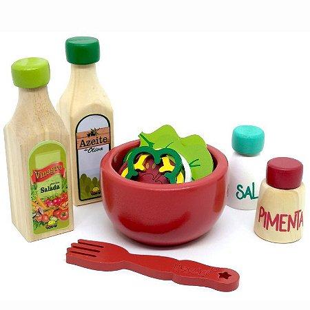 Coleção comidinhas! Kit Salada