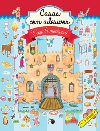 Casas com adesivos - Castelo medieval