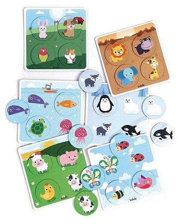 Super bingo dos animais - Brinquedo Educativo