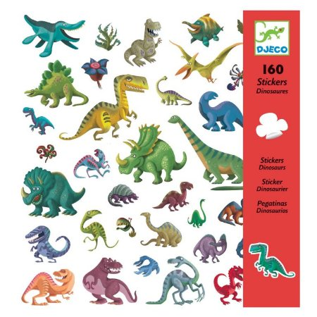 160 Adesivos - Dinossauros