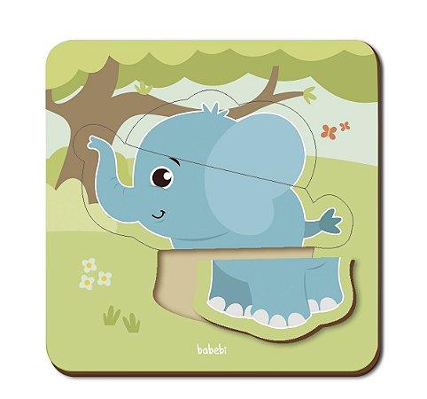 Quebra-cabeça Infantil - Baby Elefante