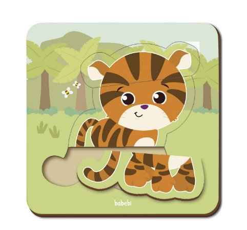 Quebra-cabeça Infantil - Baby Tigre