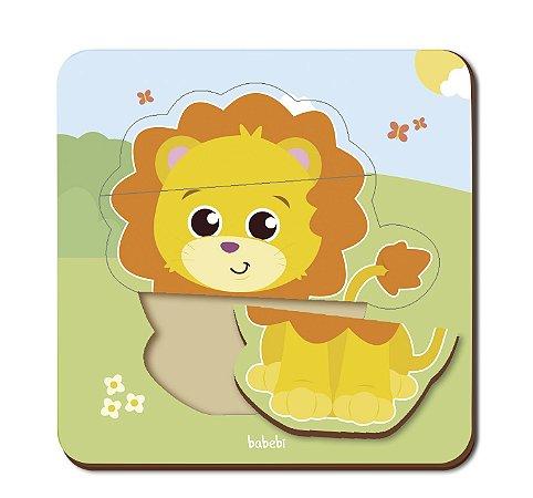 Quebra-cabeça Infantil - Baby Leão
