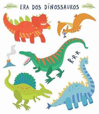 Tatuagem temporária - Dinossauros
