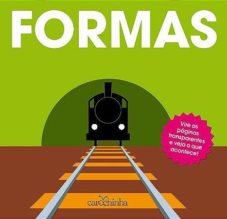 Formas - Série Vire e Descubra - Livro Interativo Infantil