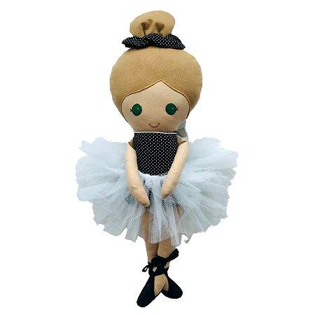Boneca de pano - Bailarina Boni
