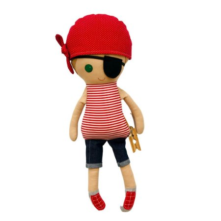 Boneco de Pano - Pirata Pedro