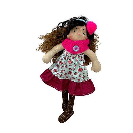 Boneca de pano Colorê - Lilica
