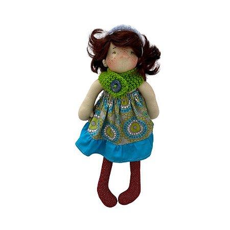 Boneca de pano Colorê - Jujuba